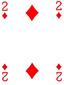 2 WAJIK Kartu poker pair 22